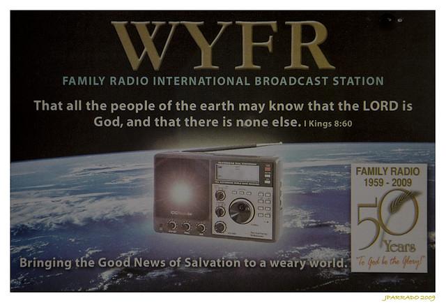 WYFR shortwave signing off