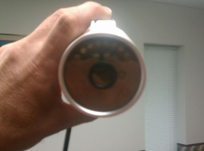 Water ingress, Loftek Nexus 543 IP camera