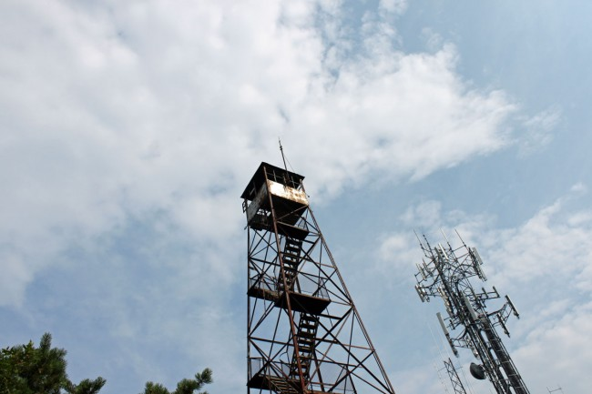 Clove Mountain fire tower, clove mountain, NY