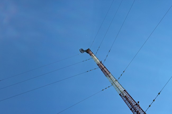WRRV WALL transmitting tower, Middletown, NY