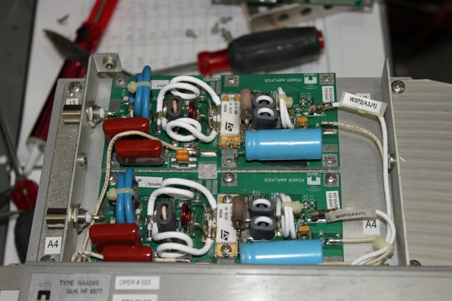 Nautel V series FM transmitter PA module
