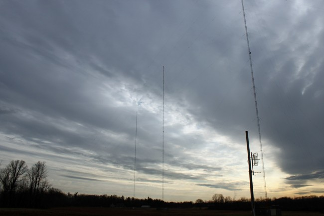 WROW antenna array, three tower DA-2