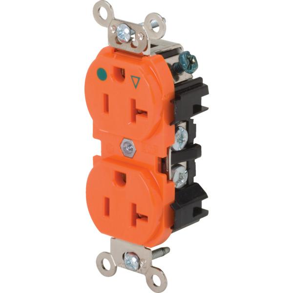 Isolated Ground (IG) receptacle