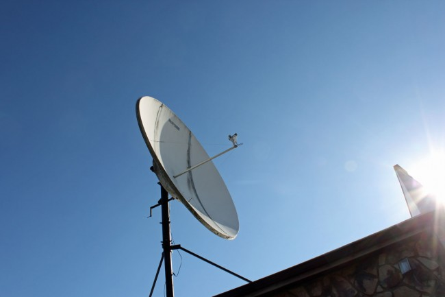 Satellite Dish Maintenance