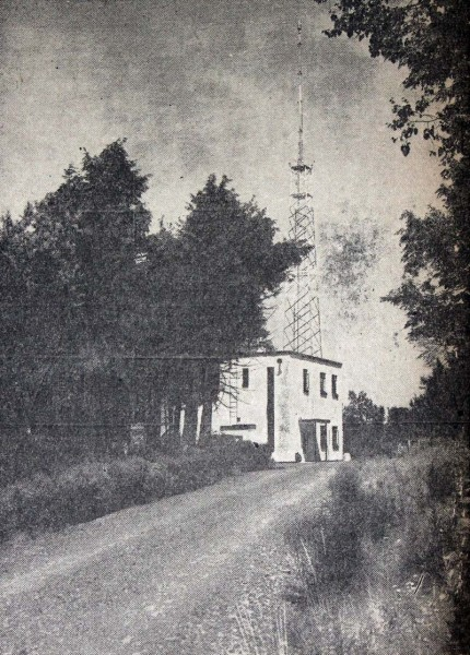 WFLY transmitter site, August 1949