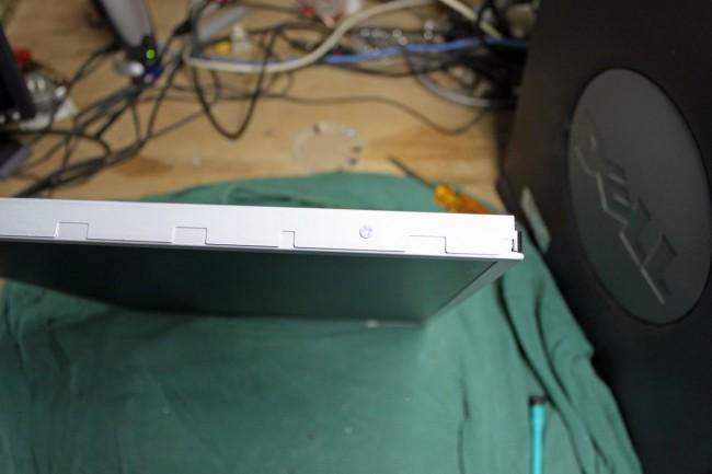 LCD monitor power supply bracket  screws