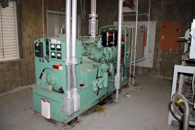 Former ATT site, Rock City NY 100 KW generator