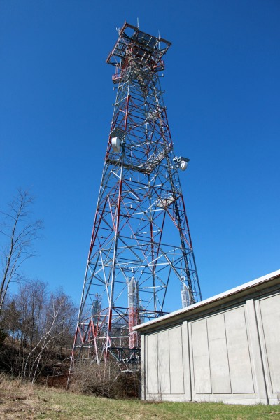Former ATT long lines Western Electric Tower, Rock City NY