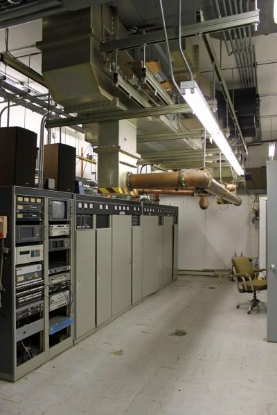 Former WMHT analog transmitter wide shot