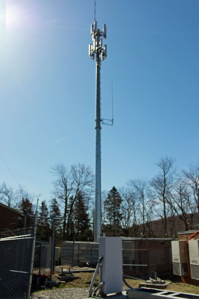 North Adams temporary cell tower