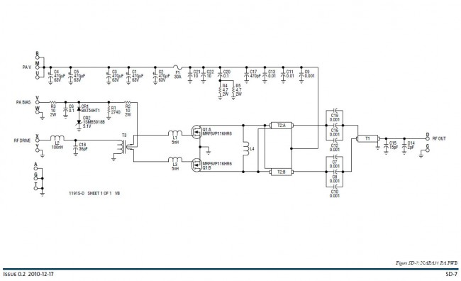 Schematic Diagram, NAPA31