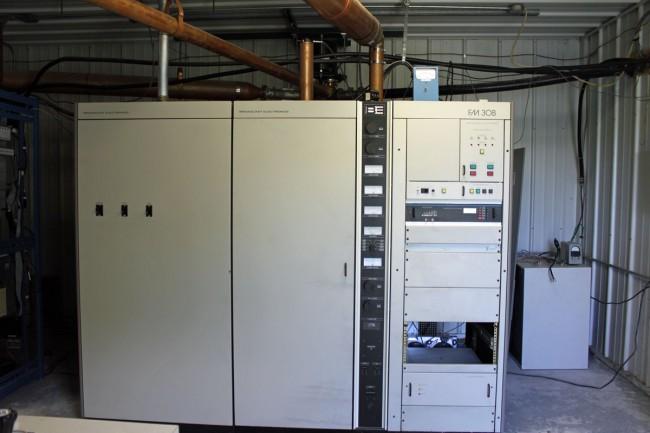 WQBJ main transmitter, Broadcast Electronics FM30B