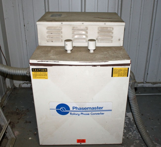 WQBJ phasemaster, backup three phase converter