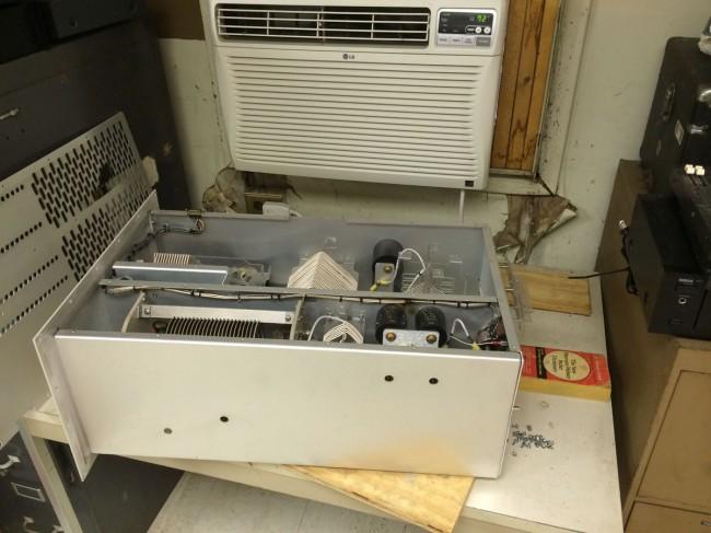 Transmitter repair