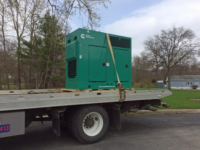 Cummins Power Generator delivery