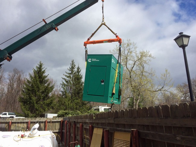Cummins generator lift