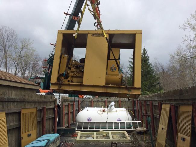 Generator lift