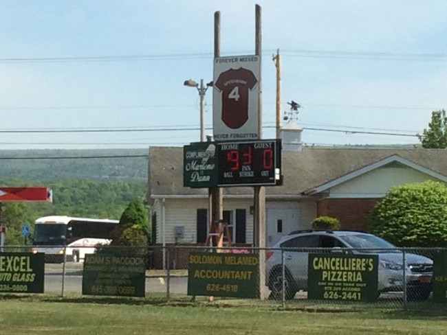 Little League Scoreboard, missing LED segments