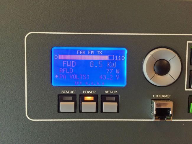GatesAir FAX10 power output