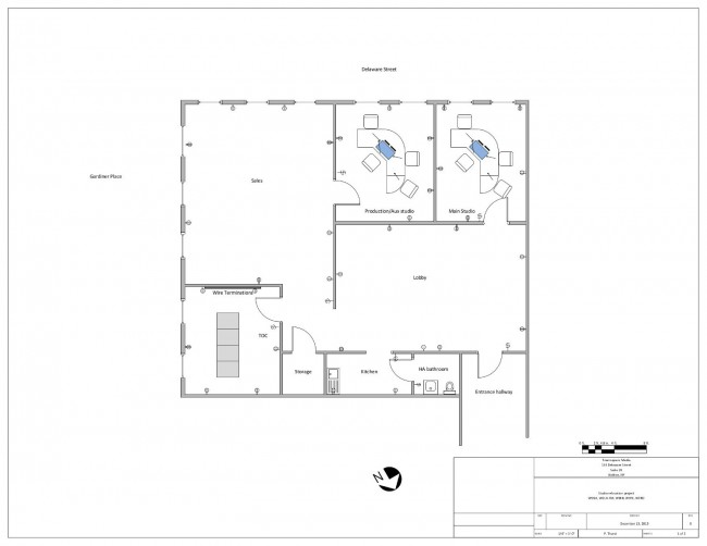 Walton Studio floor plan