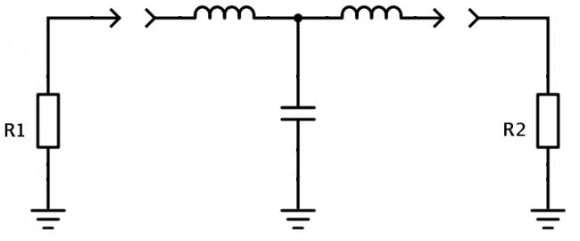 T network diagram