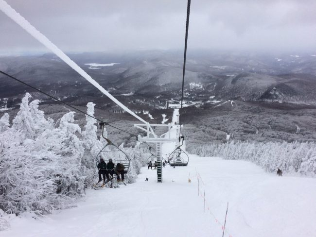 Pico chair lift