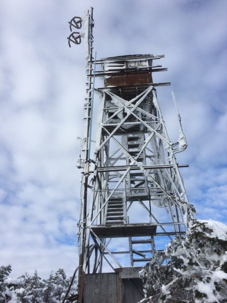 Killington peak fire tower