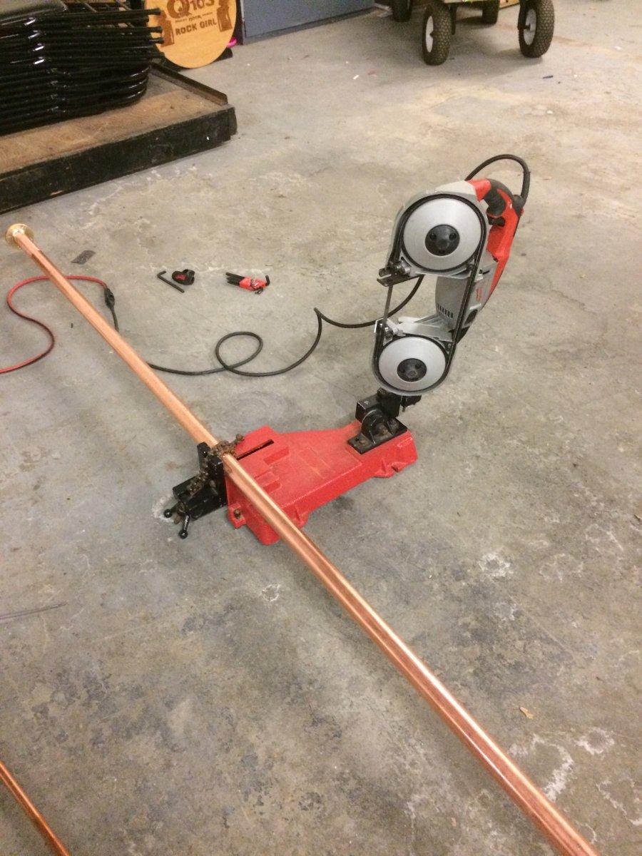 Working with rigid transmission line