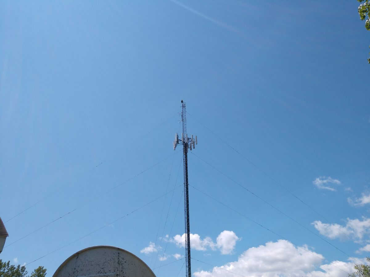 WMML WENU tower, Glens Falls, NY