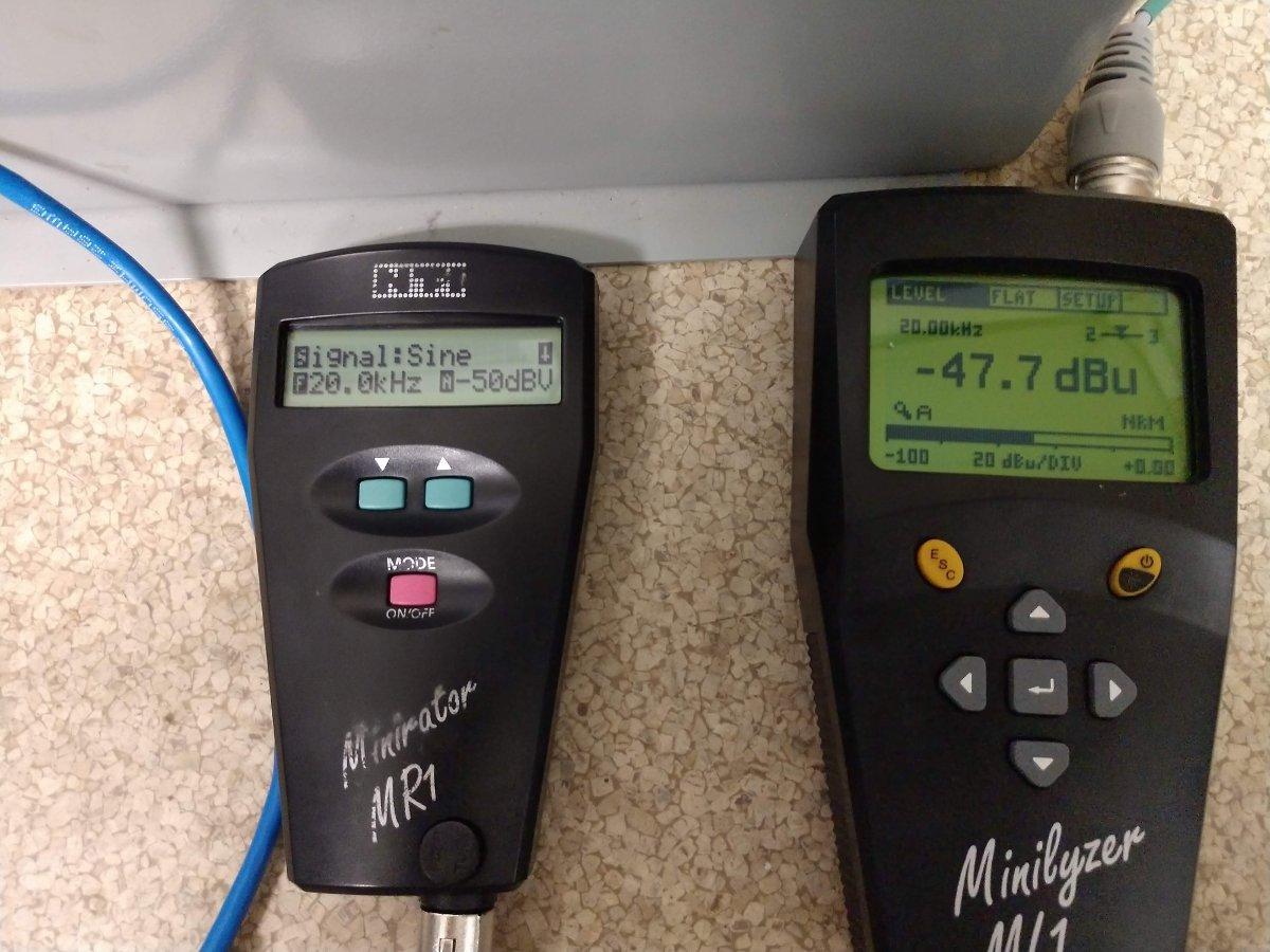 WE 111C coil 20kHz sweep