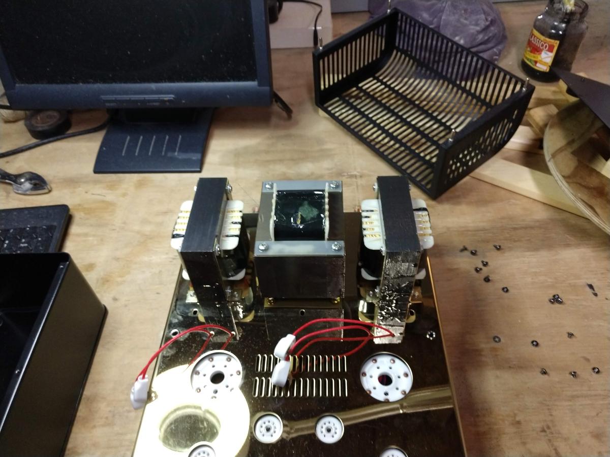 Audioromy M828A push pull tube amp