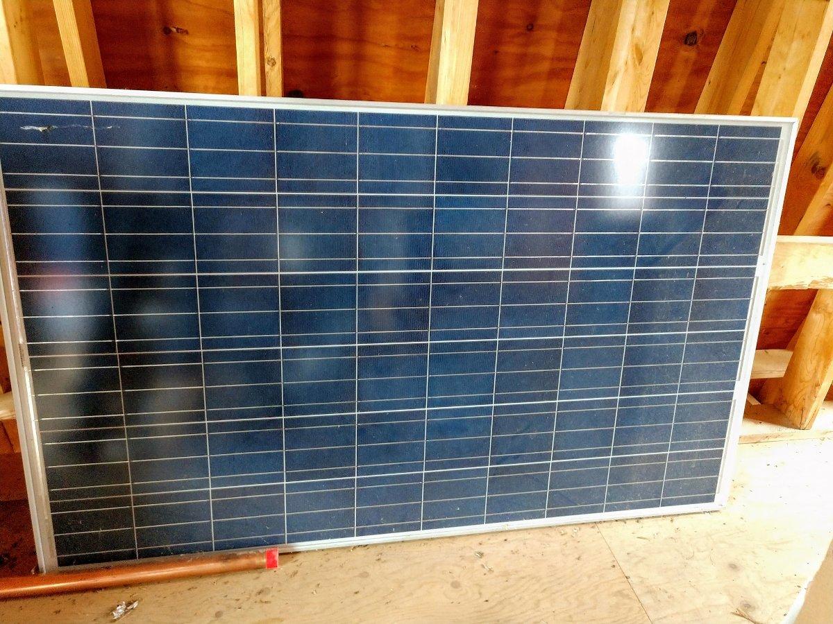 225 Watt, 36 volt solar panel