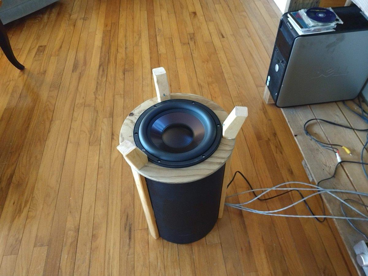 Sonosub driver, Dayton Audio RSS265HF-4 4 ohm aluminum cone driver