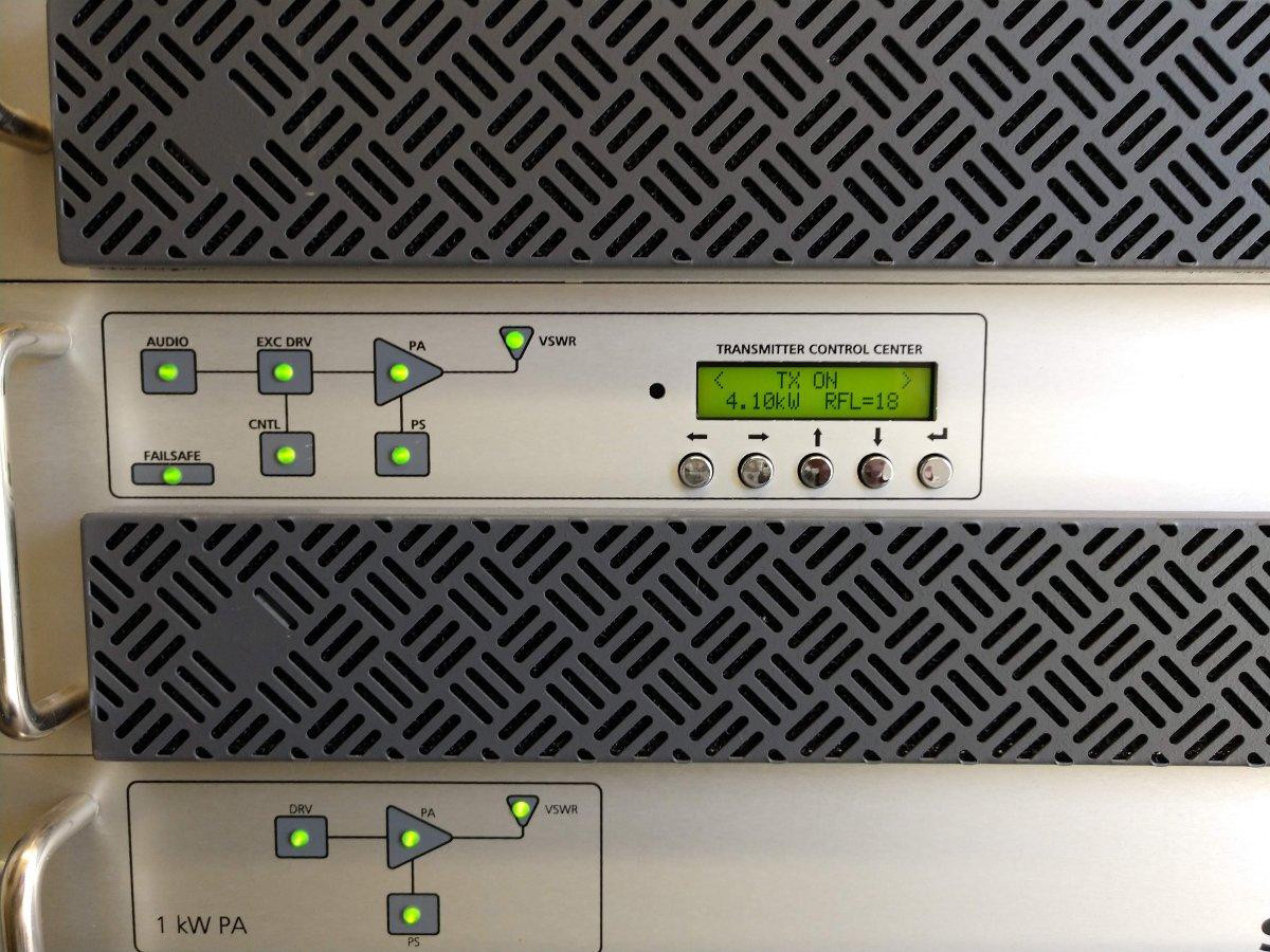 BE STX-5 LP controller/exciter
