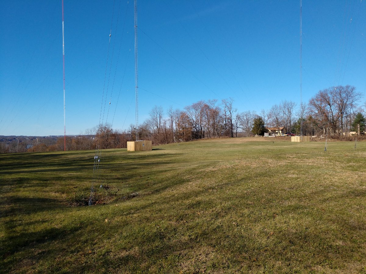 4 Tower antenna system, WBNR, Beacon, NY